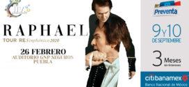 Raphael – RESinphónico en Puebla 26 de febrero 2020 Auditorio GNP Seguros