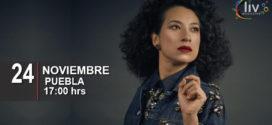 Flor Amargo en Puebla 24 de noviembre Teatro Principal
