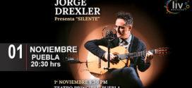 Jorge Drexler en #Puebla 1ro noviembre Teatro Principal