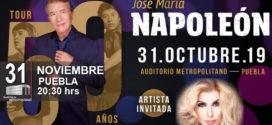 Napoleón y Dulce en Puebla 31 de octubre Auditorio Metropolitano