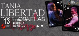 Tania Libertad y Raúl Ornelas en Puebla El Riesgo Tour 13 de febrero CCU BUAP