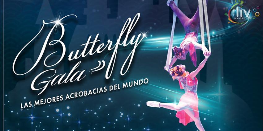 BUTTERFLY GALA en Puebla del 24 al 27 de octubre Auditorio Explanada Puebla