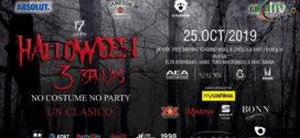 Halloween 3 Brujas en Puebla 25 de octubre Jardín 3 Marías
