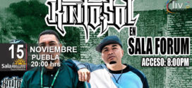 Kinto Sol en Puebla 15 de noviembre Sala-Forum