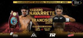 EMANUEL VAQUERO NAVARRETE VS FRANCISCO HORTA Puebla 7 de diciembre Auditorio GNP Seguros