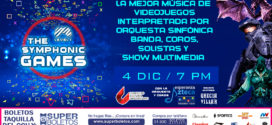 THE SYMPHONIC GAMES LEVEL 4 Diciembre Auditorio del CCU