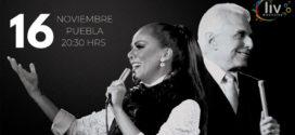 Enrique Guzmán & Edith Márquez en Puebla 16 de noviembre Auditorio Metropolitano