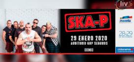 Ska-P en Puebla 29 de enero Auditorio GNP