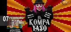 El kompa yaso en Puebla 7 febrero Teatro Principal