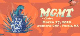 MGMT & Clairo en Puebla 17 de marzo Auditorio GNP