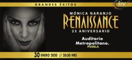 Monica Naranjo en Puebla 30 de enero Auditorio Metropolitano