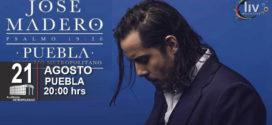 José Madero en Puebla 21 de Agosto Auditorio Metropolitano