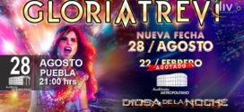 Gloria Trevi en Puebla 28 de agosto Auditorio Metropolitano