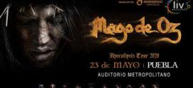 Mago de Oz en Puebla 23 de mayo Auditorio Metropolitano