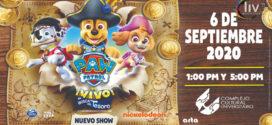 Paw Patrol en Puebla 6 de septiembre CCU BUAP