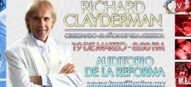 Richard Clayderman en Puebla 19 de marzo Auditorio de la Reforma.