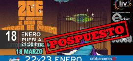 Zoe en Puebla 18 de marzo Auditorio GNP Seguros (POSPUESTO)
