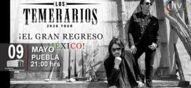 Los Temerarios en Puebla 9 de mayo Auditorio Metropolitano