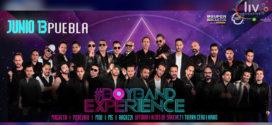 Boy Band Experience Puebla 13 de junio Centro Expositor