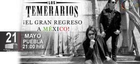 Los Temerarios en Puebla 21 de mayo 2021 Auditorio Metropolitano