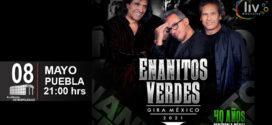 Enanitos Verdes en Puebla 8 de mayo 2021 Auditorio Metropolitano.