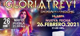 Gloria Trevi en Puebla 26 de febrero 2021 Auditorio Metropolitano