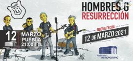 Hombres G en Puebla 12 de marzo 2021 Auditorio Metropolitano