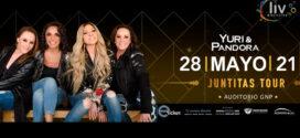 Pandora & Yuri en Puebla Juntitas Tour 27 de mayo 2021 Auditorio GNP